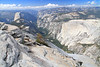 Half Dome, Clouds Rest, Glacier Point & Merced Lake, October 2012 : October 8-12, 2012: Backpack Trip To Half Dome, Clouds Rest, Glacier Point & Merced Lake. 65.4 Miles, +14,700'